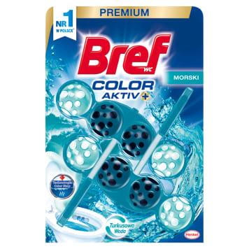 BREF Color Aktiv Zawieszka do WC - Morski 2x50g 1szt