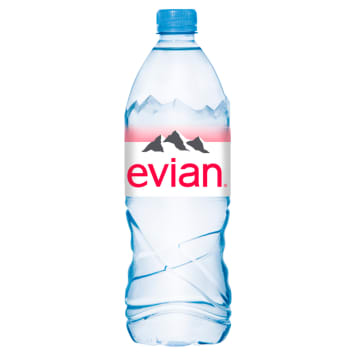 Woda mineralna - Evian. Najbardziej rozpoznawalna na świecie marka wody mineralnej.