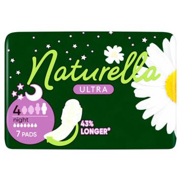 Podpaski higieniczne 7 szt. - Naturella Ultra Night. Niewykle wygodne i skuteczne.