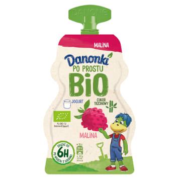 DANONE Danonki Po prostu Jogurt malina BIO 70g