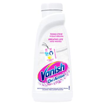 VANISH Oxi Action Odplamiacz do białych tkanin w płynie 500ml