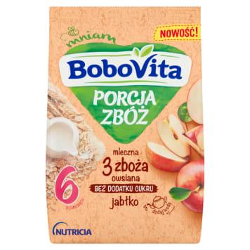 Kaszka 7 zbóż jabłko - Bobovita. Lekkostrawna propozycja dla dzieci po 8.miesiącu.