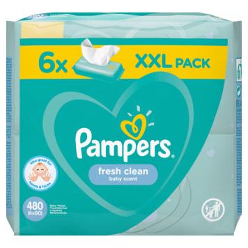 PAMPERS Fresh Clean Chusteczki nawilżające dla niemowląt 1szt