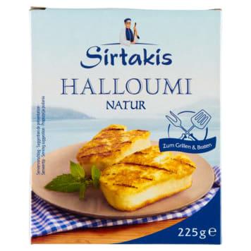 Ser Halloumi - Sirtakis. Półtwardy ser z dodatkiem mięty.