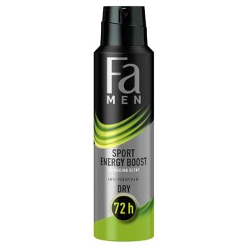 FA Men Xtreme Sport Energy Boost Antyperspirant 150ml