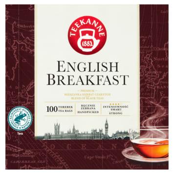 TEEKANNE English Breakfast Mieszanka herbat czarnych 100 torebek 175g