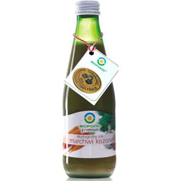 Sok z marchwi kwaszonej Bio Food to ekologiczny napój wpływający korzystnie na skórę i wzrok.