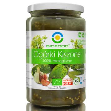Ogórki kiszone BIO, 900 g - Bio Food