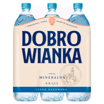 Woda mineralna lekko gazowana - Dobrowianka