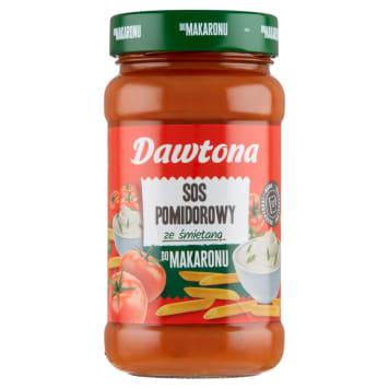 DAWTONA Sos do spaghetti pomidorowo-śmietanowy 550g