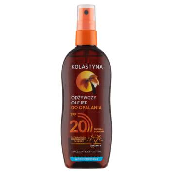KOLASTYNA SUN Care Odżywczy olejek do opalania SPF 20 150ml