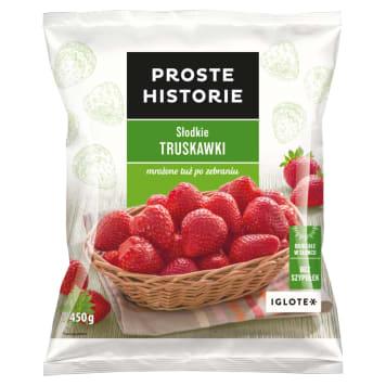PROSTE HISTORIE Słodkie truskawki 450g