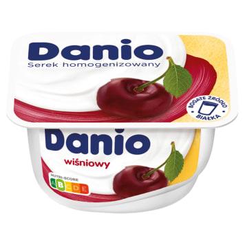 DANONE DANIO Serek homogenizowany wiśniowy 135g