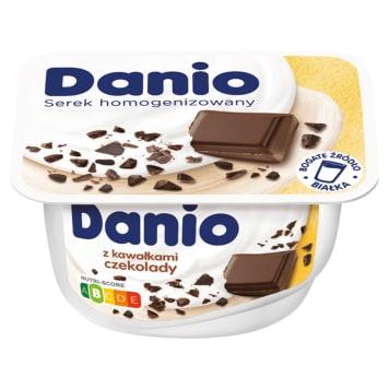 DANONE DANIO Ekstra Serek homogenizowany z czekoladą 130g