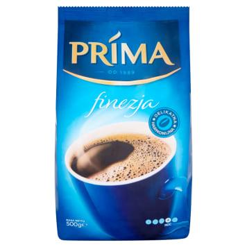 Kawa mielona - Cafe Prima Finezja. Kawa o harmonijnym smaku i aromacie świeżo palonych ziaren.