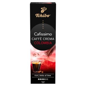 TCHIBO Cafissimo Kawa palona mielona w kapsułkach Caffe Crema Colombia 10 kaps. 80g