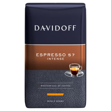 DAVIDOFF Espresso 57 Kawa palona ziarnista 500g