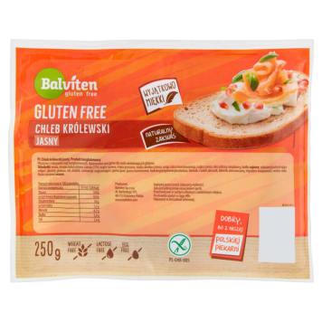 Chleb królewski bezglutenowy - Balviten. To niebanalna propozycja dla osób, które nie mogą spożywać glutenu.