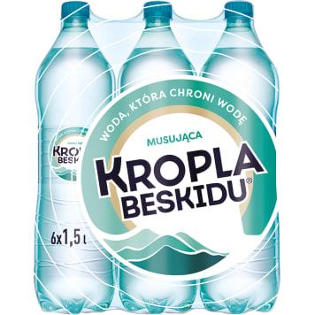 KROPLA BESKIDU Naturalna woda mineralna średniogazowana 9l