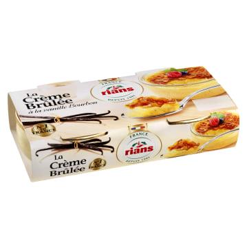 RIANS Creme brulee 2x100g 200g