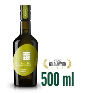 MONINI Monocultivar Oliwa z oliwek extra vergine Frantoio BIO 500ml