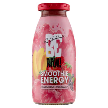 BE RAW! Smoothie - Breakfast – truskawka, ziarna 250 ml