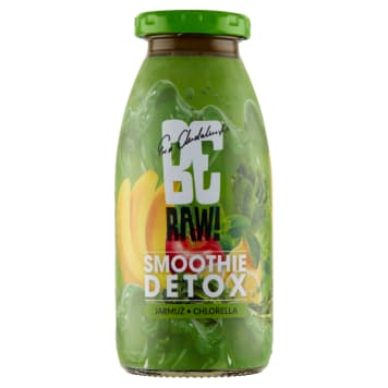 BE RAW! Smoothie - zielony detox 250 ml