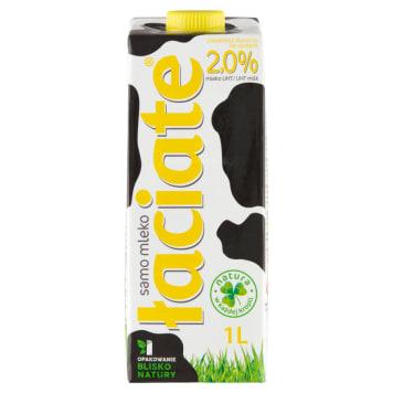 Mleko Łaciate UHT 2% - znakomity naturalny smak i zapach