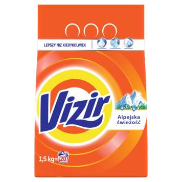 Proszek do prania tkanin białych - Vizir. Skuteczny i odświeżający proszek.