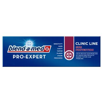 Pasta do zębów Blend-a-Med Pro-Expert Clinic Line. Chroni zęby przed szkodliwymi czynnikami.