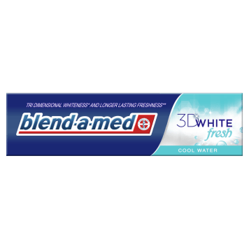 Pasta wybielająca do zębów - Blend-A-Med 3D White. Do codziennej higieny jamy ustnej.