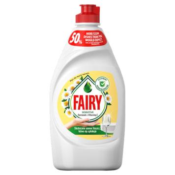 FAIRY Sensitive Płyn do mycia naczyń rumiankowy z witaminą E 450ml