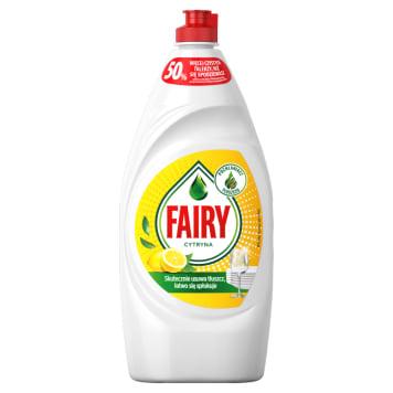 Fairy - Płyn do naczyń cytryna. Ekspert do walki z uciążliwymi zabrudzeniami.