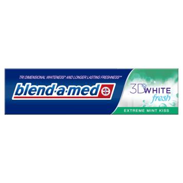 BLEND-A-MED 3D White Fresh Extreme Mint Kiss Pasta wybielająca do zębów 100ml