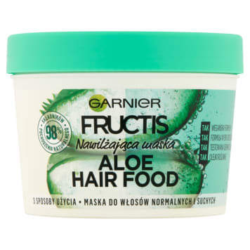 GARNIER FRUCTIS Maska do włosów normalnych i suchych 390ml