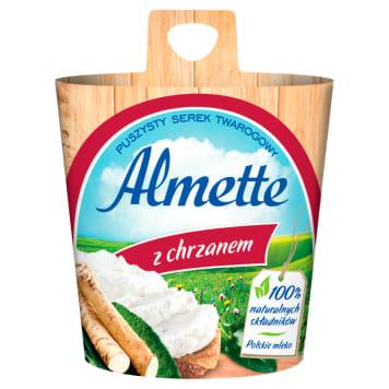 Hochland - Almette serek twarogowy z chrzanem 150g. Zawsze puszysty i doskonały.