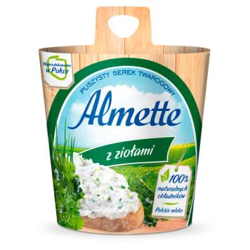 Serek twarogowy z ziołami Almette - Hochland. To idealny serek twarogowy o ziołowym aromacie