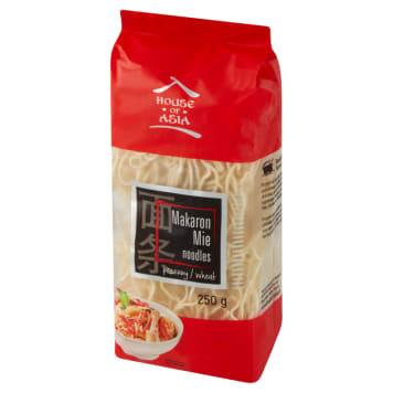 Makaron Mie 250g - House Of Asia to dodatek, który można wykorzystać w daniach azjatyckich.