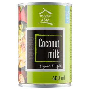 Mleczko kokosowe House Of Asia - wyjątkowy smak i konsystencja