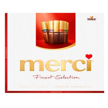 Kolekcja czekoladek mlecznych - Merci Finest Selection