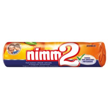 NIMM2 Nadziewane cukierki owocowe wzbogacone witaminami 50g