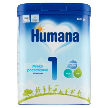 HUMANA Mleko początkowe 1 -  od urodzenia 800g