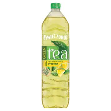 ŻYWIEC ZDRÓJ Green Tea Napój niegazowany zielona herbata z cytryną 1.5l