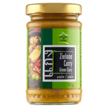 HOUSE OF ASIA Pasta curry zielona 113g