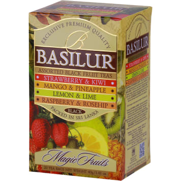 BASILUR Mieszanka czarnych herbat cejlońskich, wysokogórskich 40g