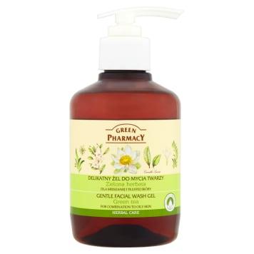 GREEN PHARMACY Żel do mycia twarzy Zielona Herbata 270ml