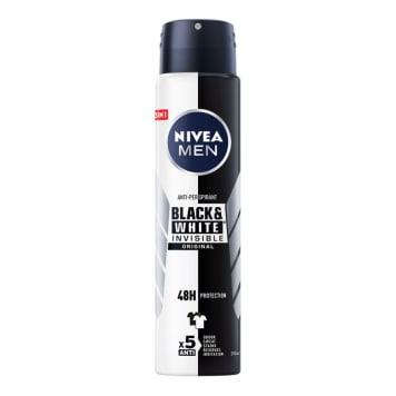 NIVEA MEN antyperspirant Invisible Power 250ml - nie pozostawia białych plam na odzieży