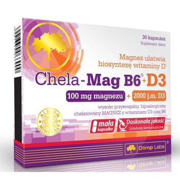 OLIMP Chela-Mag B6®+D3 30 kaps 1szt