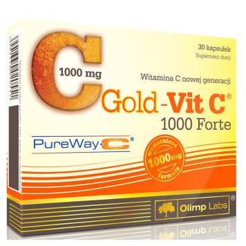 OLIMP Gold-Vit C 1000 Forte 30 kapsułek- blistry 1szt