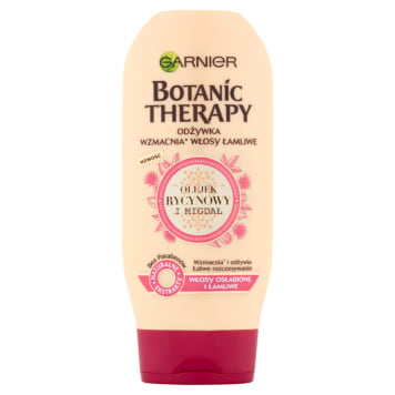 GARNIER Botanic Therapy Olejek rycynowy & Migdał Odżywka do włosów osłabionych i łamliwy 200ml